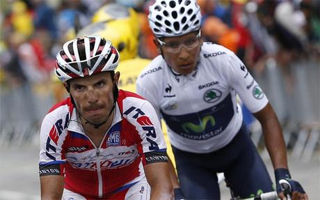 'Purito' finaliza tercero en el Tour.