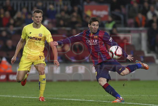 صور : مباراة برشلونة - فياريال 3-1 ( 11-02-2015 ) 1423690138973