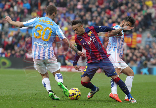 صور : مباراة برشلونة - ملقا  0-1 ( 21-02-2015 )  1424541137173
