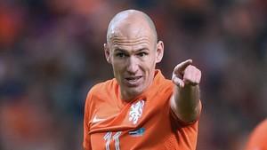 Robben señala el camino que debe seguir la selección de Holanda