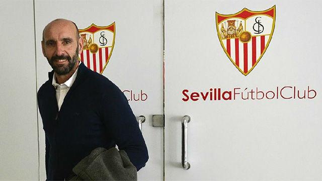Monchi vuelve al entrenamiento del Sevilla