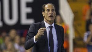 Voro, entrenador del Valencia, habló en la previa del Real Madrid-Valencia de Liga