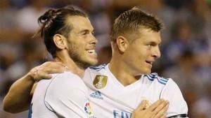 Kroos y Bale estarán ante el Borussia Dortmund