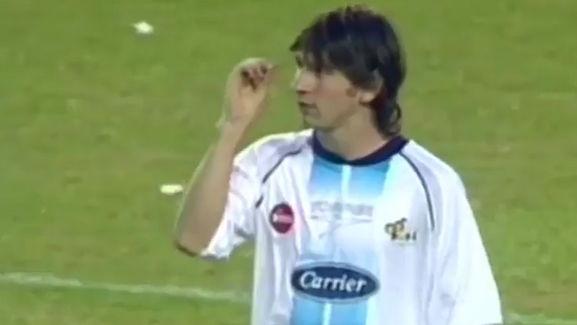 El día que Messi jugó en la Bombonera