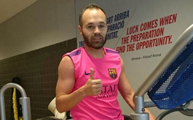 Image result for andres iniesta on twitter