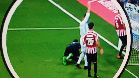 La incre�ble reacci�n de Cristiano en el gol de Morata
