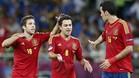 Jordi Alba, Xavi y Busquets, entre los 23 mejores del torneo según la UEFA