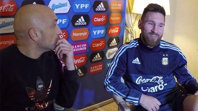Messi habló del talento del hijo de Suárez
