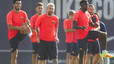 Olympic champion Rafinha misses first day back in Barcelona training due to illness