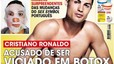 Is Real Madrid forward Cristiano Ronaldo addicted to botox?