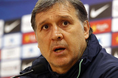 El Tata Martino prometi� un Bar�a dispuesto a pelear la Liga hasta el final