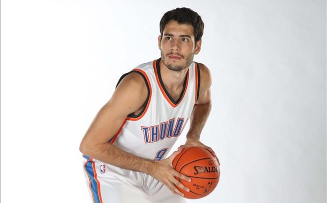 �lex Abrines volver� el 5 de octubre a Barcelona pero ahora como jugador de los Oklahoma City Thunder