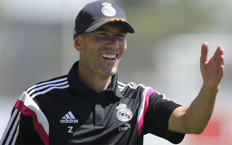 Zidane podr� sentarse en el banquillo del Castilla... por ahora