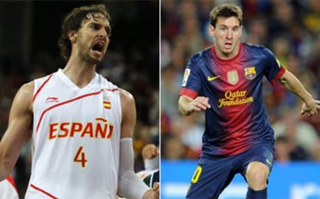 Gasol y Messi, dos \'marcas\' cotizadas