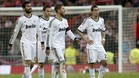 El Madrid acab muy tocado tras la derrota