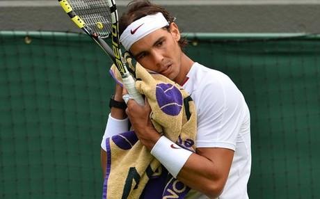 Nadal se despide de Wimbledon