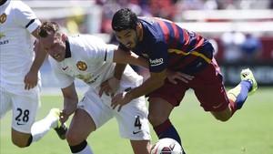 El Barcelona ya jugó en verano del 2015 contra el Manchester United en la gira por Estados Unidos