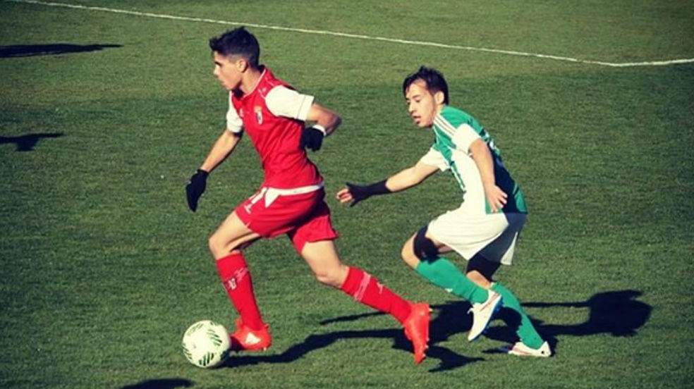 Pedro Neto juega con el Sporting de Braga y la sub17 de Portugal