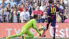 Messi es la pesadilla de Diego Alves
