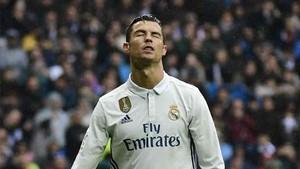 Cristiano Ronaldo falló un penalti