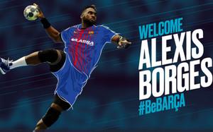 Alexis Hernández, tercera incorporación del FC Barcelona Lassa de balonmano