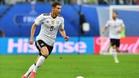 Leon Goretzka destacó en la pasada Copa Confederaciones ganada por Alemania