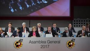 La asamblea aprobó el calendario 2017/ 2018