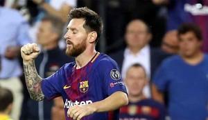 Messi marcó dos goles a la Juventus