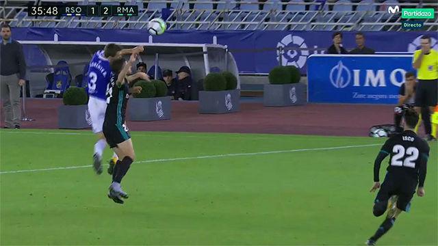 LALIGA   Real Sociedad - Real Madrid (1-3): Polémica en el 1-2 del Madrid