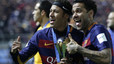 Alves sends a message to the Barcelona board about Neymar's renewal