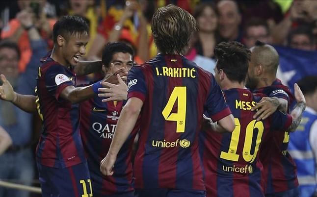 El talento de Messi decide la Copa en el Athletic-Bar�a
