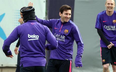 El Barcelona ya prepara el partido contra el Villarreal