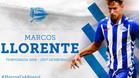 El canterano madridista Marcos Llorente, nuevo jugador del Alavés