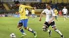 Culio y Rodrigo, dos de los protagonistas de la jugada del��nico gol