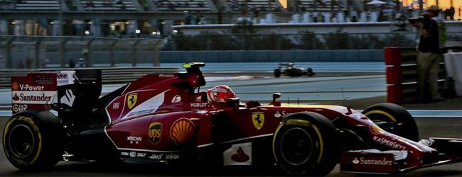El Ferrari de Alonso se queda parado