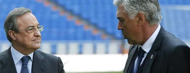 Florentino destituye a Ancelotti