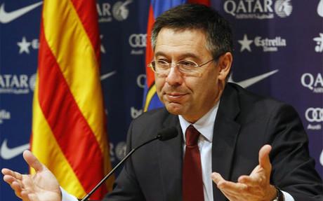 Josep M� Bartomeu