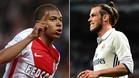 Kylian Mbappé (Mónaco) y Gareth Bale (Real Madrid) pueden protagonizar el mercado de verano del Real Madrid