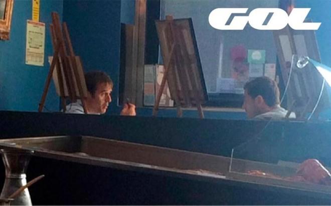 Lopetegui y Casillas se reunieron en Oporto