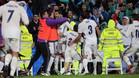 Morata salva los muebles y le da el liderato al Madrid