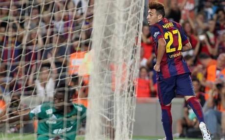 Munir fue el m�ximo goleador de la pretemporada del Bar�a