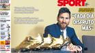 Ya salió la portada de SPORT