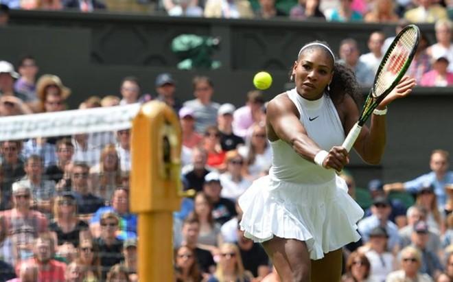 Serena Williams ha debutado con una c�moda victoria en la Central de Wimbledon