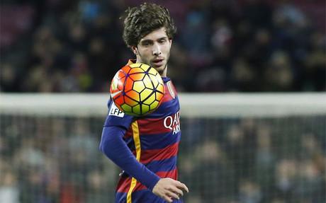 Sergi Roberto, titular ante el Valencia en Mestalla