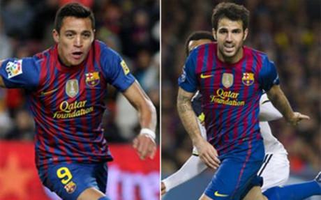 Alexis y Cesc tienen la confianza de Tito