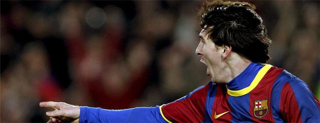 Messi, titular por vez primera