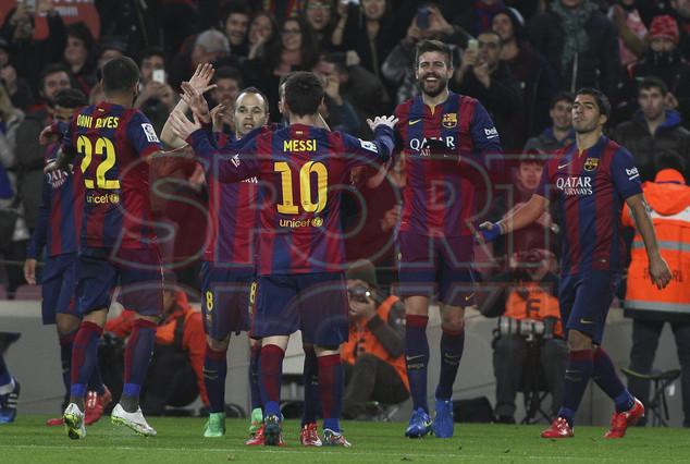 صور : مباراة برشلونة - فياريال 3-1 ( 11-02-2015 ) 1423690199793