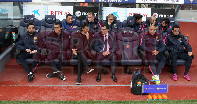 صور : مباراة برشلونة - ملقا  0-1 ( 21-02-2015 )  1424541221993