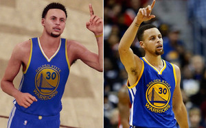 Curry y Curry, cara a cara
