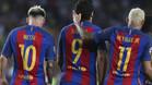 Los goles del tridente serán decisivos para eliminar al Athletic